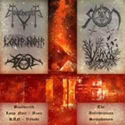 Baalberith / Loup Noir / Azoic / RÁN / Váboði - The Antichristian Symphonies [2CD]