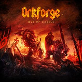 """Orkforge - Age of Battle [Oversized 5"""" Digifile CD]"""