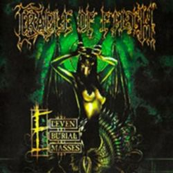 "Cradle of Filth - Eleven Burial Masses [Double Gatefold 12"" LP]"