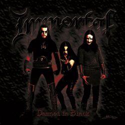 "Immortal - Damned in Black (Red & Gold Splatter Vinyl) [Gatefold Colored 12"" LP]"