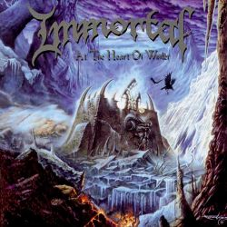 """Immortal - At the Heart of Winter (Blue Galaxy Vinyl) [Gatefold Colored 12"""" LP]"""