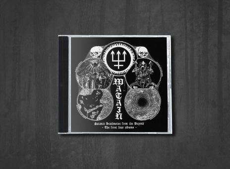 Watain - Satanic Deathnoise from the Beyond (The First Four Albums) [4CD]