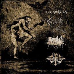 "Akerbeltz / Avangh Dhür / Morbid Yell / Hellthrone - Akerbeltz / Avangh Dhür / Morbid Yell / Hellthrone [12"" LP]"