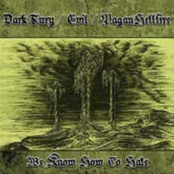 Dark Fury / Evil / Pagan Hellfire - We Know How to Hate [CD]