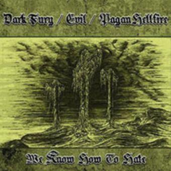 Dark Fury / Evil / Pagan Hellfire - We Know How to Hate [CD]