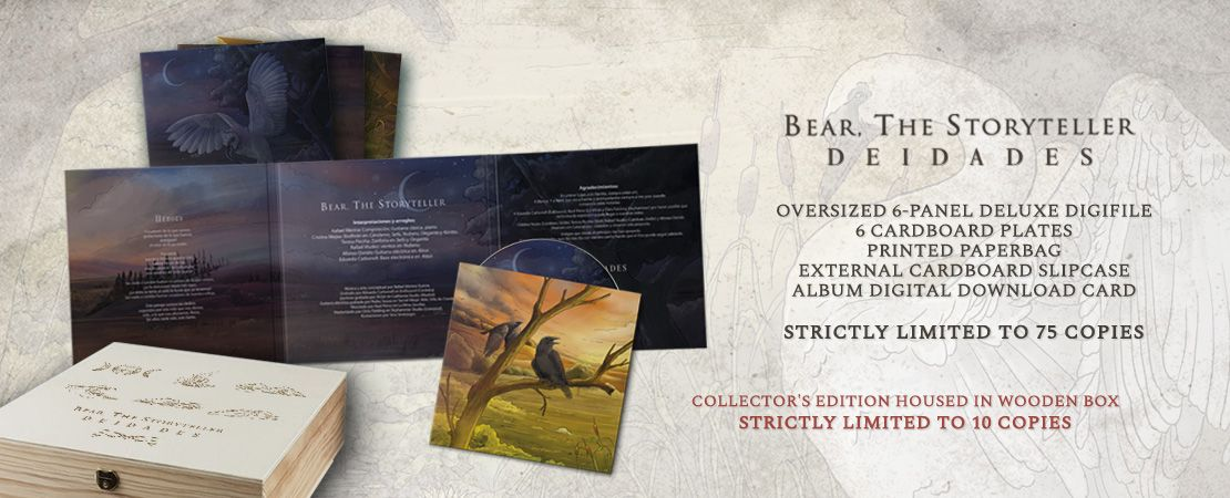 Bear the Storyteller - Deidades (Slipcase Oversized Digifile CD)